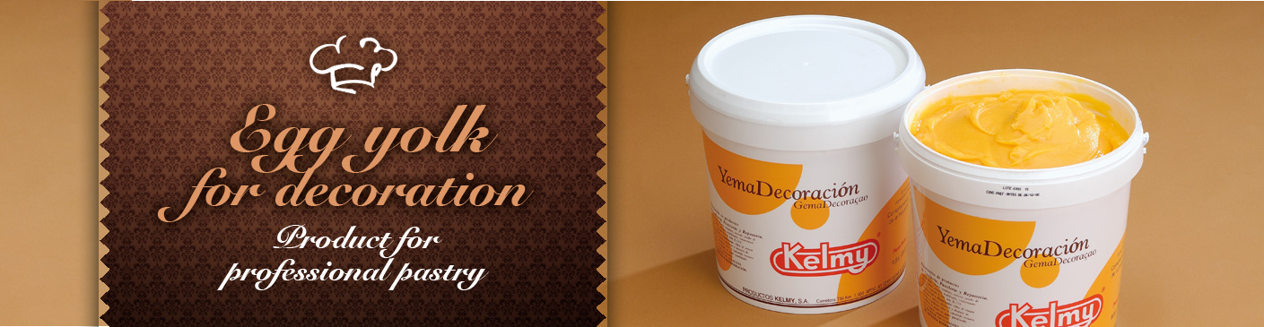 Egg yolk for decoration - Product for professional pastry