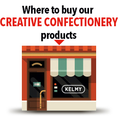 Where to buy Kelmy Creative Confectionery products