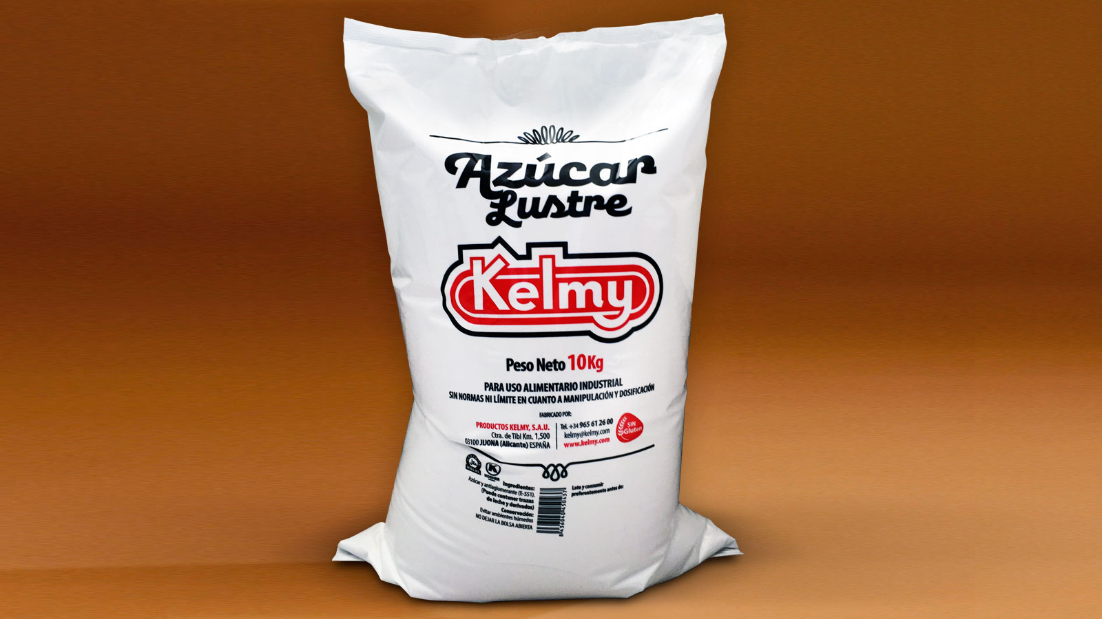 Kelmy Icing sugar - Finely ground sugar for use in confectionery