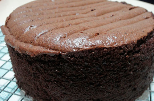 Chocolate sponge cake recipe
